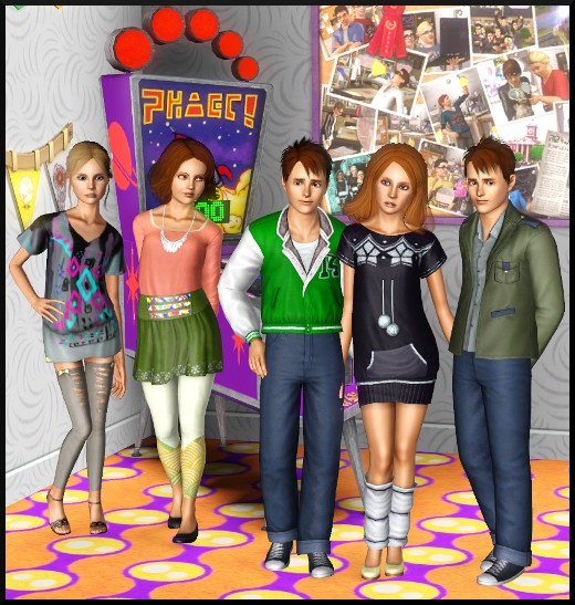4 sims 3 store Collection quotidienne pour ados