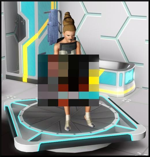 16 sims 3 store choc du futur loft Série Ultime frontière Machine anti-routine action toilettes