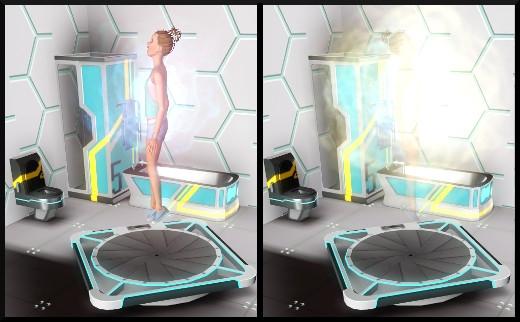 18 sims 3 store choc du futur loft Série Ultime frontière Machine anti-routine action téléportation