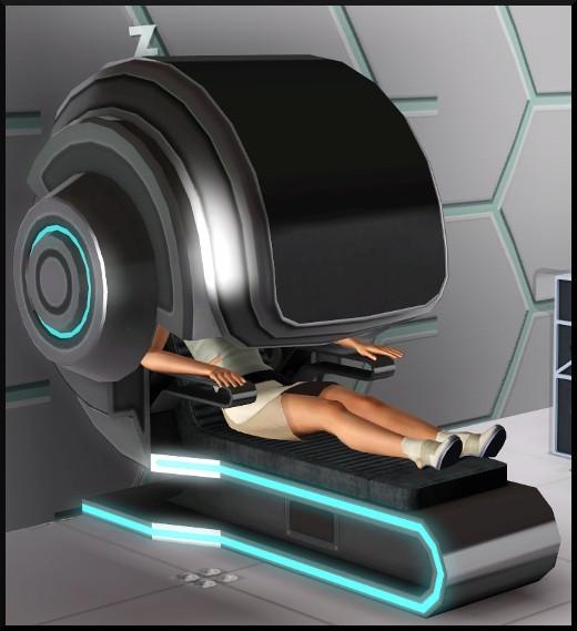 10 sims 3 store choc du futur chambre Super couchette Simchic action