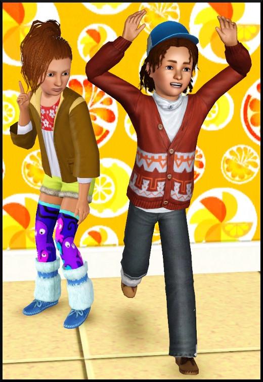 3 sims 3 store collection pour enfants