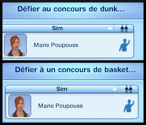 12 sims 3 store collection niveau superieur panier basket
