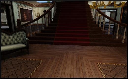 4 1 sims 3 store le manoir centenaire maintenant et autrefois escalier