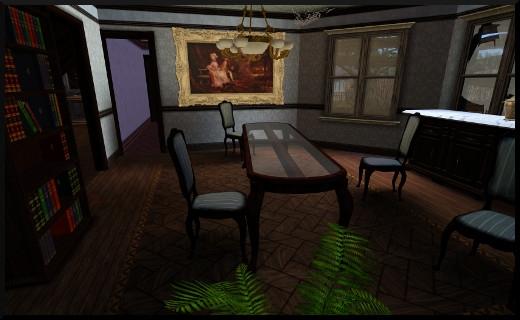 7 1 sims 3 store le manoir centenaire maintenant et autrefois salle a manger