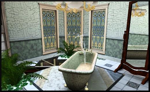 13 1 sims 3 store le manoir centenaire maintenant et autrefois salle de bain