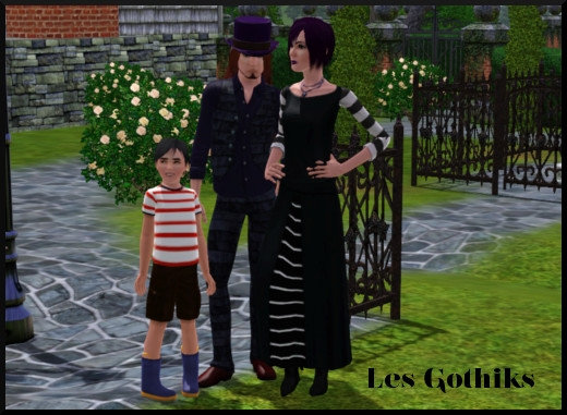 1 sims 3 sunset valley gothik
