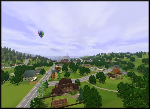 11 sims 3 sunset valley vue ballon
