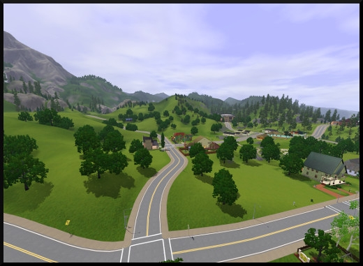 12 sims 3 sunset valley vue route