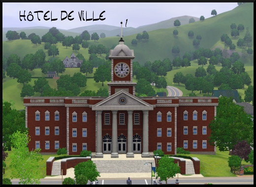 15 sims 3 sunset valley hotel de ville