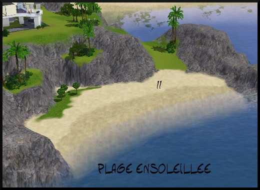 23 sims 3 sunset valley plage ensoleillee