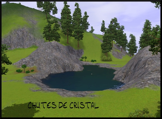 24 sims 3 sunset valley chutes de cristal