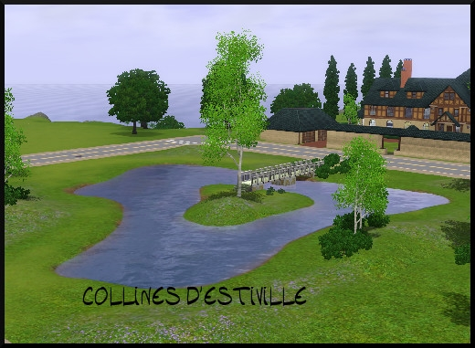 27 sims 3 sunset valley collines d'estiville
