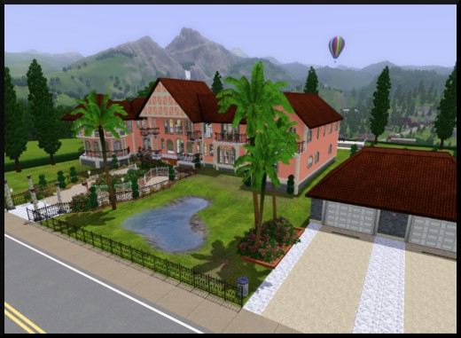 33 sims 3 sunset valley alto maison