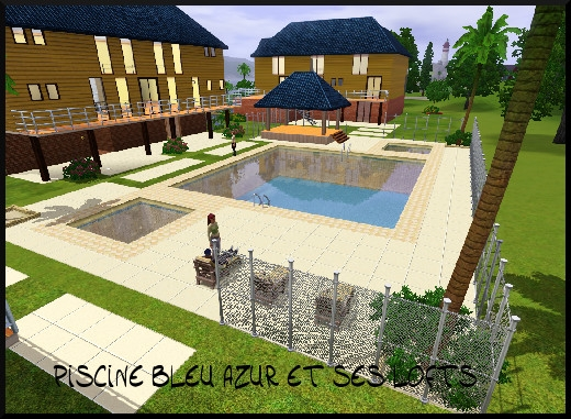 33 sims 3 sunset valley piscine lofts