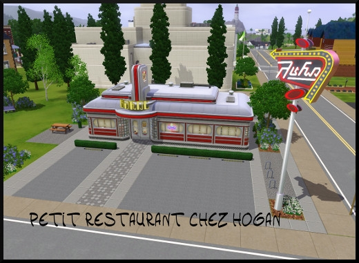 36 sims 3 sunset valley petit restaurant hoggan