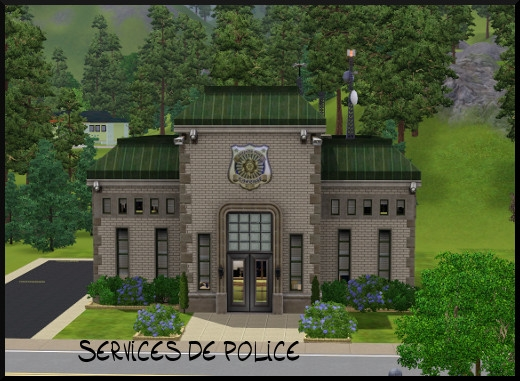 39 sims 3 sunset valley service police