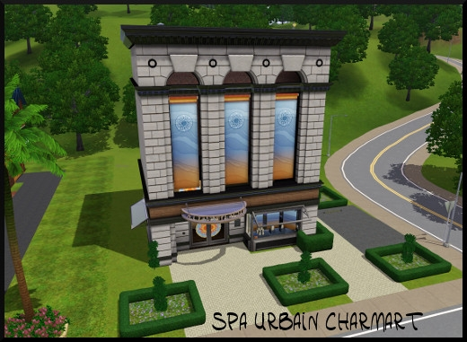 44 sims 3 sunset valley spa urbain