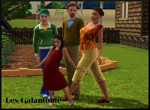 49 sims 3 sunset valley galantome sonia gothik enfant