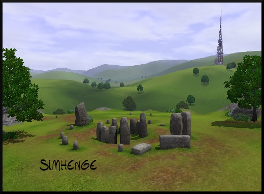 51 sims 3 sunset valley simhenge dolmen magie