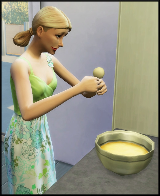 4 sims 4 au travail competence patisserie action oeuf