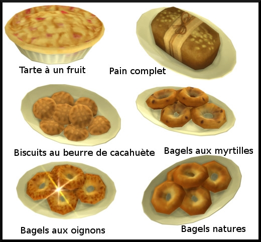 17 sims 4 au travail competence patisserie niveau 3 pain bagel biscuit