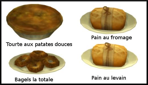 23 sims 4 au travail competence patisserie niveau 4 tourte bagel pain