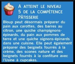 24 sims 4 au travail competence patisserie niveau 5