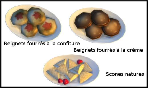 25 sims 4 au travail competence patisserie niveau 5 beignet fourré scone