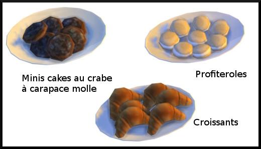 31 sims 4 au travail competence patisserie niveau 7 croissant crabe profiteroles