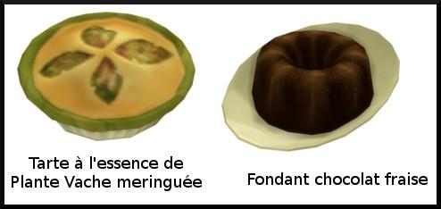 42 sims 4 au travail competence patisserie niveau 10 tarte meringuee essence plante vache fondant chocolat framboise