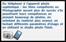 1 sims 4 photographie competence presentation