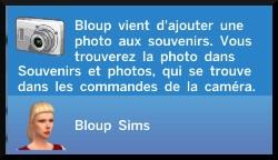 14 sims 4 photographie competence ajouter aux souvenirs message