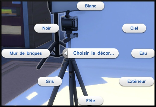 22 sims 4 photographie competence studio photo flash choix décor
