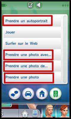 28 sims 4 photographie competence téléphone portable interactions