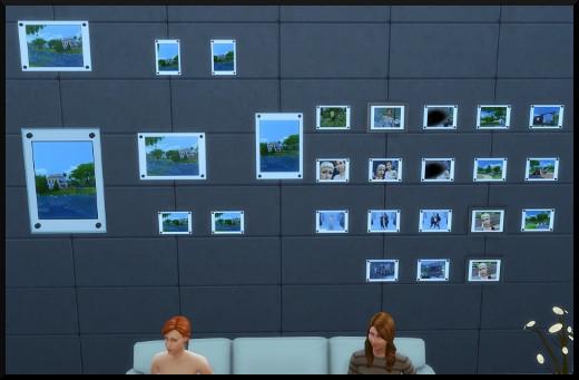 31 sims 4 photographie competence photos au mur