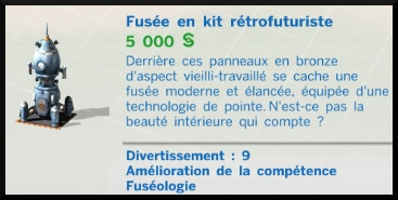 2  sims 4 competence fuseologie fusee mode achat