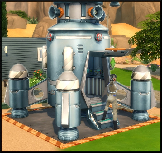 19 sims 4 competence fuseologie fusee depart espace entree