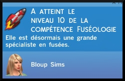 26 sims 4 competence fuseologie fusee fin competence