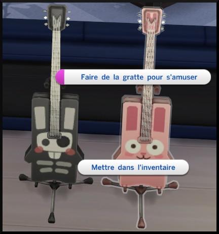 8 sims 4 competence guitare faire de la gratte pour s'amuser