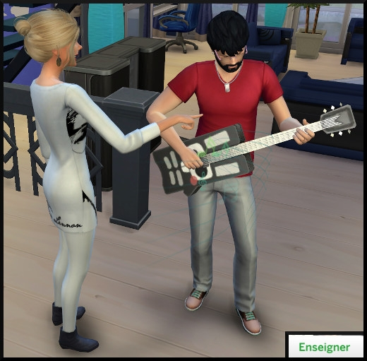 28 sims 4 competence guitare enseigner