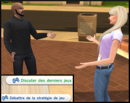 11 sims 4 competence jeux videos interactions jeu