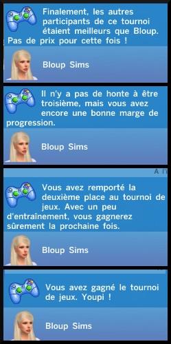 15 sims 4 competence jeux videos tournois débutant messages