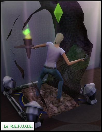 24 sims 4 competence jeux videos REFUGE tapis jeu