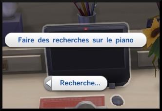 7 sims 4 competence piano faire recherche ordinateur