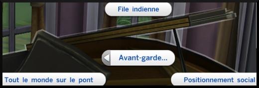 27 sims 4 competence piano morceaux avant garde