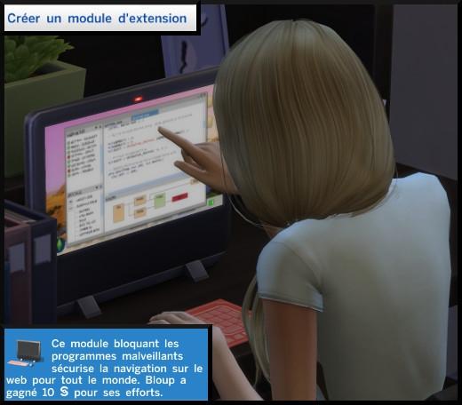 6 sims 4 competence programmation créer un module d'extension
