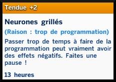 10 sims 4 competence programmation humeur tendue neuronnes grillées