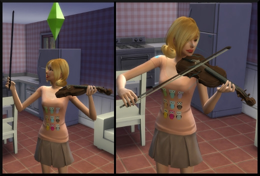 5 sims 4 competence violon jouer