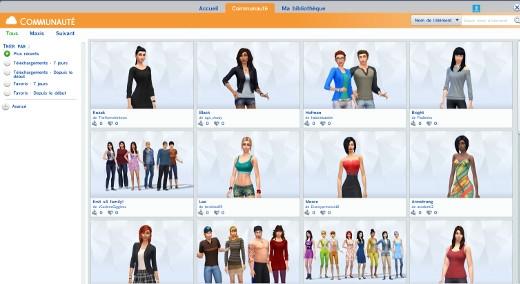 4  sims 4 dem create a sims creer un sims communauté community