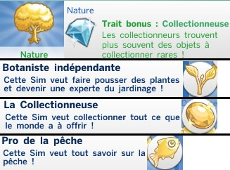 23  sims 4 dem create a sims creer un sims aspiration nature